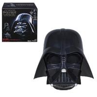 Hasbro 孩之寶 星球大戰 E0328 黑武士達斯維達頭盔 收藏版 模型