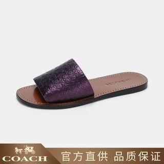 COACH 蔻驰 蔻驰女士简约日常休闲拖鞋