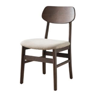 治木工坊 OSHDY-01 软包蝴蝶椅 胡桃色