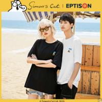 EPTISON 衣品天成 西蒙的猫联名款 AMT1240W 男士短袖T恤