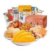 88VIP:Three Squirrels 三只松鼠 水果干零食大礼包 6袋