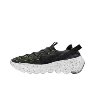 NIKE 耐克  Space Hippie 04 男子跑鞋 CZ6398-010 黑色/绿色