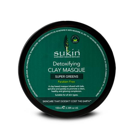 sukin 苏芊 绿色有机排毒精华面膜 100ml