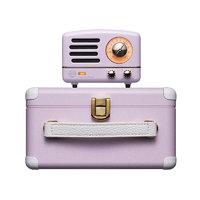 MAO KING 猫王 B612 便携蓝牙音箱收音机二合一 小王子爱丽丝紫