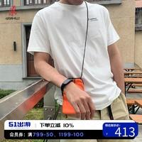 GRAMICCI小野人2021春季新款 CHARI&CO联名印花男士棉质短袖T恤