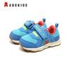 abckids 宝宝鞋舒适软底学步鞋防滑婴儿助走机能鞋弹力支撑婴儿鞋  Y8121538D蓝红 25