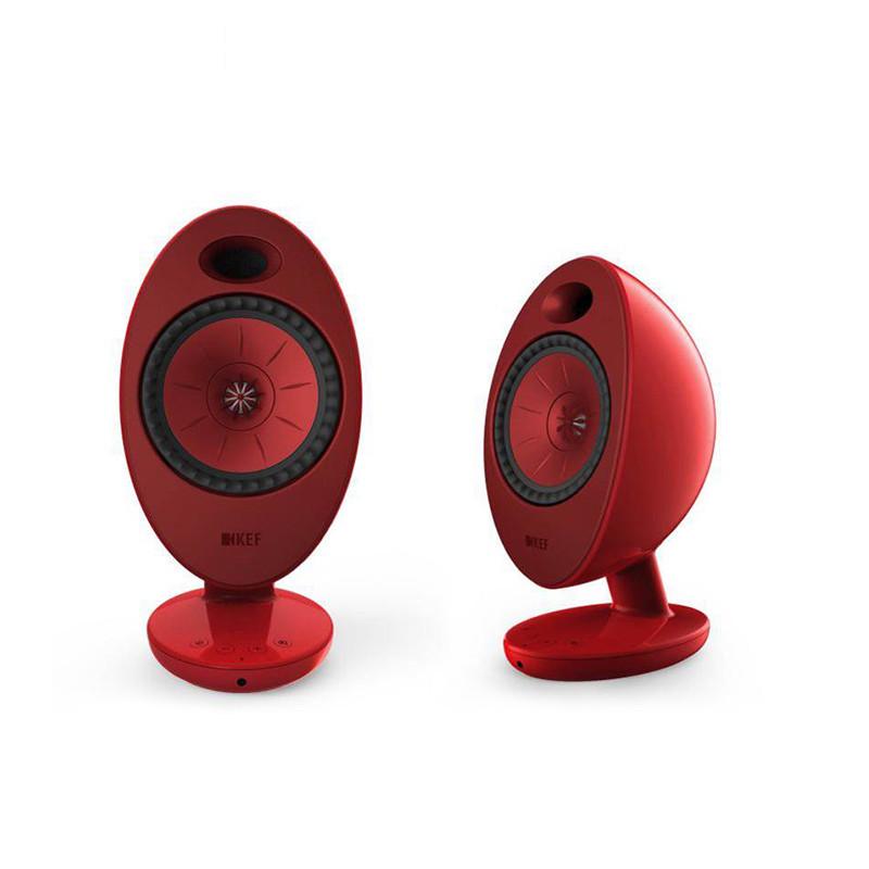 KEF EGG Duo 桌面 蓝牙音箱 红色