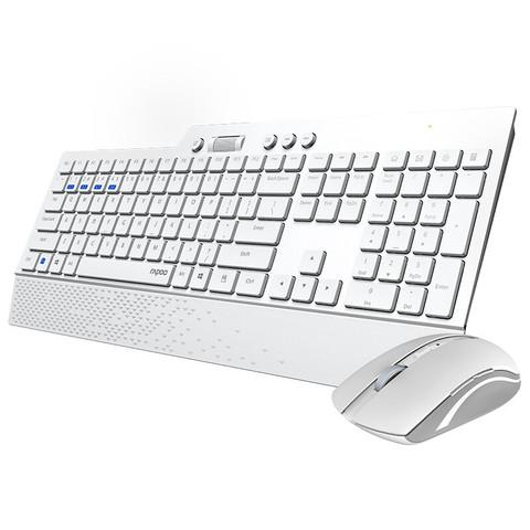 RAPOO 雷柏  8200GT 无线键鼠套装 白色