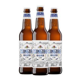 TSINGTAO 青岛啤酒 全麦白啤 2020版 500ml*12瓶