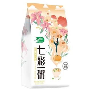 十月稻田七彩一粥 (五谷杂粮 八宝粥 花生燕麦 红枣小米 红豆薏米粥等 独立包装)1.05kg