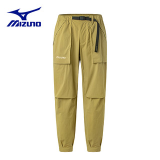 Mizuno 美津浓 D2CF1042 男士梭织运动长裤