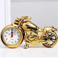 创意摩托车形闹钟