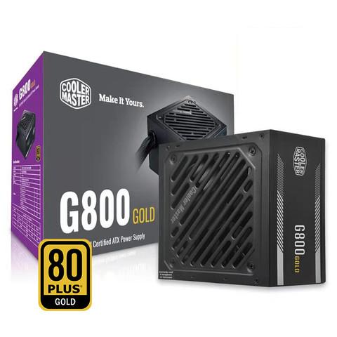 COOLERMASTER 酷冷至尊 G800 额定800W 80PLUS金牌电源