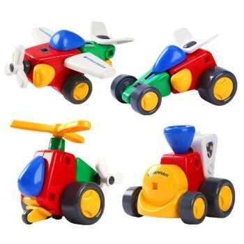 京东PLUS会员:LIVING STONES 活石 儿童拼装电动玩具 拼拼乐
