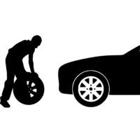 天猫汽车养护服务 轮胎换位四轮换位前后对调换服务 工时费