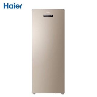 Haier 海尔 海尔(Haier) 151升 立式风冷无霜电脑温控防串味冷藏保鲜立式冰柜 母婴母乳冷柜冰箱 BD-151WLY