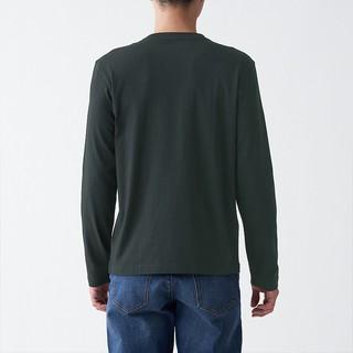 MUJI 无印良品 ABC01A1S 男式长袖T恤
