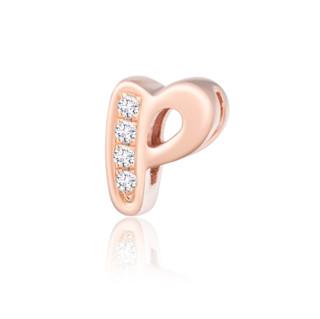 MONOLOGUE 独白 MIX系列 字母18K玫瑰金钻石转运珠