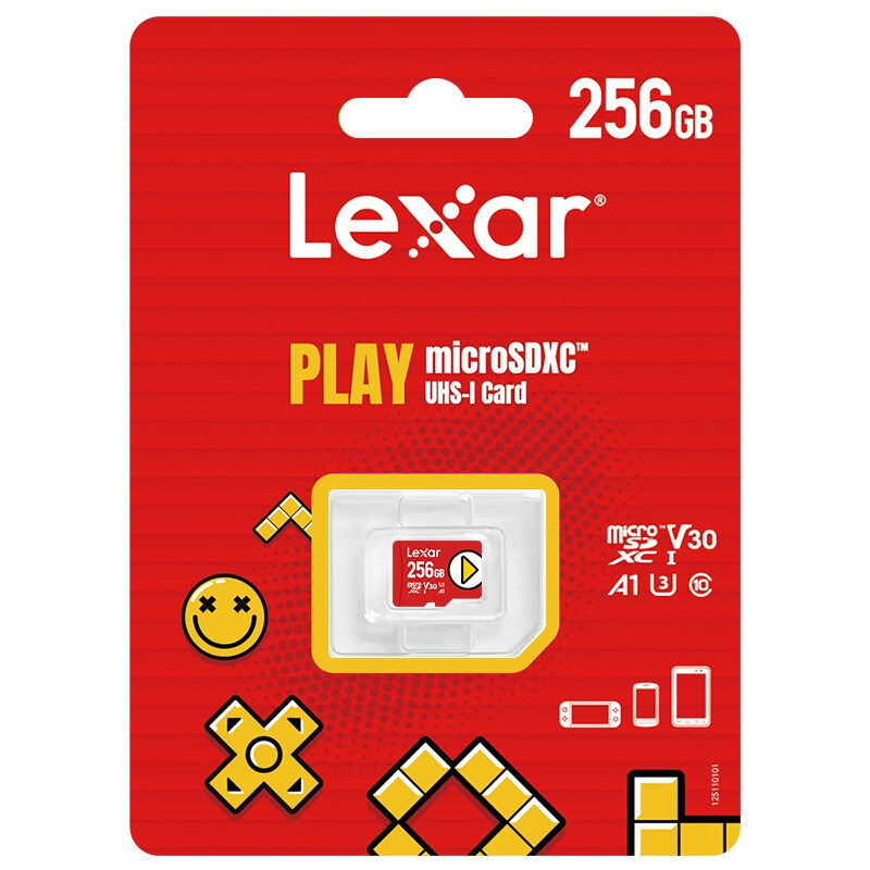 Lexar 雷克沙 PLAY MICROSDXC UHS-I SD存储卡(UHS-I、C10)