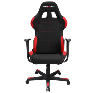 DXRACER 迪锐克斯 F01 电竞椅 黑红色
