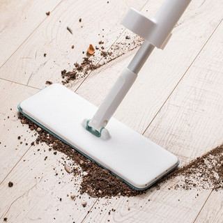 MI 小米 小米家佐敦朱迪免洗平板拖把家用拖把木地板一拖净干湿两用地拖布网红拖地
