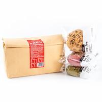 七年五季 红丝绒紫薯全麦面包 800g 袋装