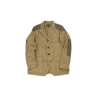 Nigel Cabourn 男士亚麻斜纹布夹克外套 80420080000