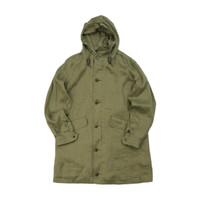 Nigel Cabourn 男士长款大衣外套 80420030000 绿色 46