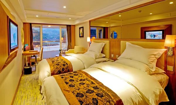总统系列7号/8号 长江三峡4-5日邮轮游
