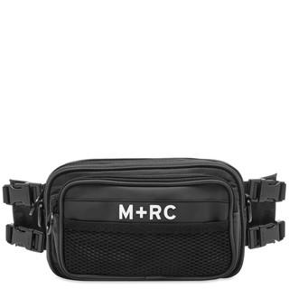 M+RC NOIR Downtown 男士尼龙单肩腰包 黑色
