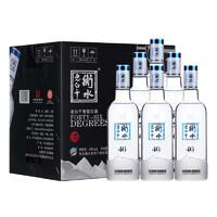 衡水老白干 冰川 46%vol 老白干香型白酒 500ml*6瓶 整箱装