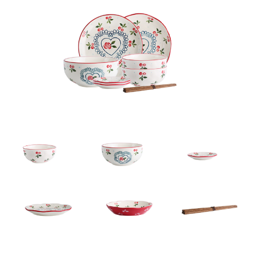 KAWASIMAYA 川岛屋 樱桃系列 TZ-8 陶瓷餐具