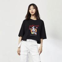 ONLY  迪士尼米奇联名款 120101675 女士刺绣T恤