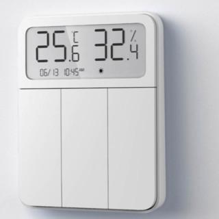 MI 小米 ZNKG03HL 内置温湿度计屏显智能开关 白色