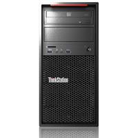 Lenovo 联想 ThinkStation P320 大机箱版 工作站 黑色(至强E3-1225V6、核芯显卡、16GB、128GB SSD+1TB HDD)