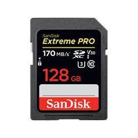 SanDisk 闪迪 至尊超极速系列 Extreme PRO SD存储卡 128GB(UHS-III、V30、C10)