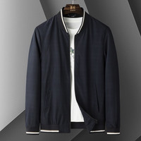 ROMON 罗蒙 65L211189 男士夹克暗纹拉链轻薄外套