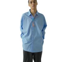 monkey time 男士条纹长袖衬衫 H184 B91 W78 H91