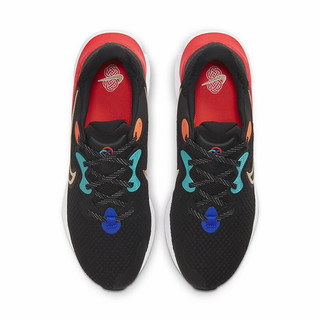 NIKE 耐克 Renew Run 2 男子跑鞋 DJ0033-061 黑橙蓝 41
