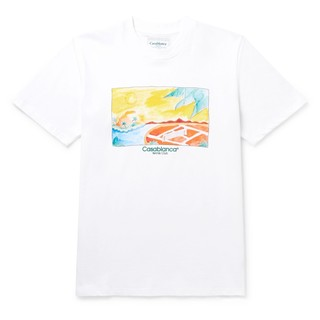 Casablanca paris 男士印花短袖T恤 JVV1606114272914