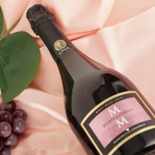 MARQUES DE LA CONCORDIA 康科帝亚  MM陈酿桃红CAVA 陈酿起泡葡萄酒 750ml