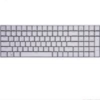 ROYAL KLUDGE RK100 2.4G蓝牙 多模无线机械键盘 100键 白色 茶轴