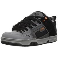 DVS Comanche 男子运动滑板鞋 DVF0000029065 灰黑/橘黄 40