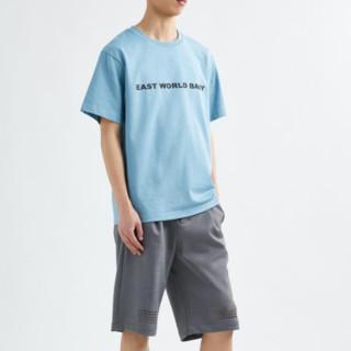 XANDER ZHOU 周翔宇 男士印花短袖T恤 JVM1605514996078