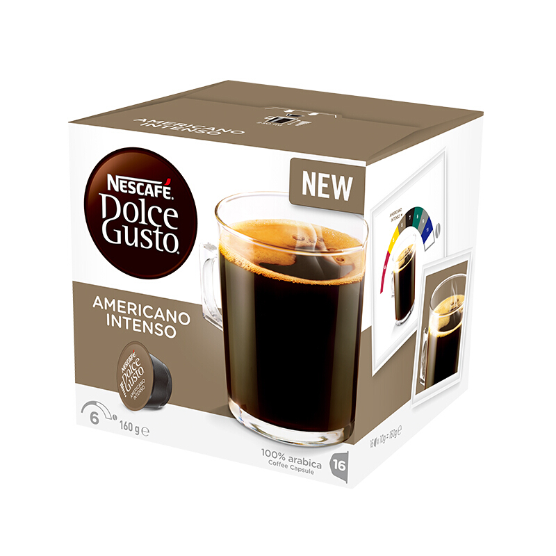 Nestlé 雀巢 美式醇香浓烈咖啡胶囊 10g*16颗