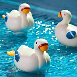 zhiqixiong 儿童戏水小天鹅洗澡玩具