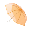 BANANA UNDER 蕉下 透彩系列 BU9087 8骨睛雨伞 3把装 透明色+画册橘+茶棕色