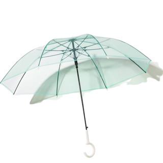 BANANA UNDER 蕉下 透彩系列 BU9087 8骨睛雨伞 2把装 茶黄色+草青绿