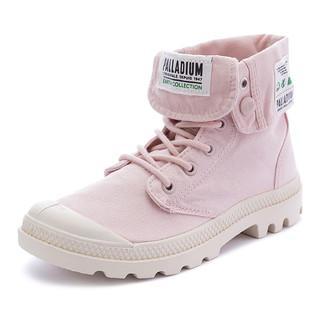 帕拉丁翻帮帆布鞋舒适纯色休闲鞋男女鞋