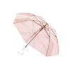 BANANA UNDER 蕉下 透彩系列 BU9087 8骨睛雨伞 3把装 透明色+冰粉色+草青色